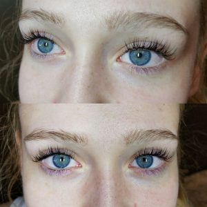 Have your eyelashes done at Transformations Sylvania Hair Renewal Studio