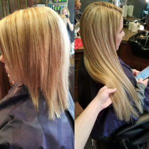 another beautiful hair extension by Transformations Sylvania Hair renewal studio