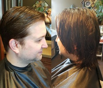 before and after Hair Cuts by Transformations Sylvania