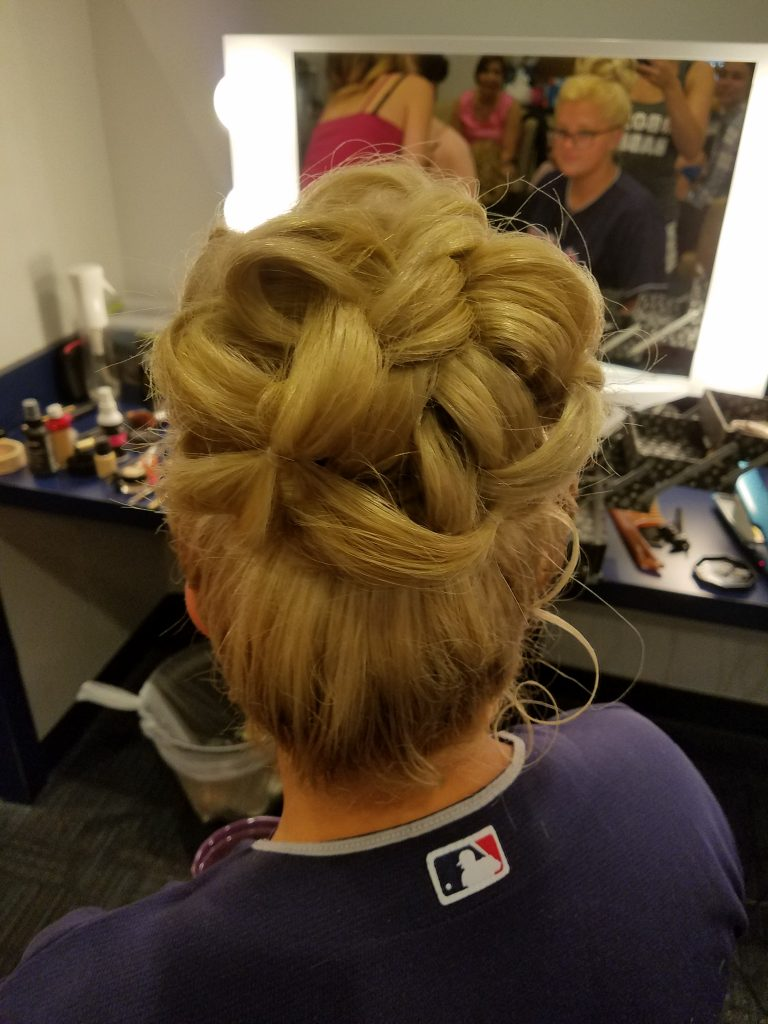 Updos and wedding styling are a Transformations Sylvania specialty